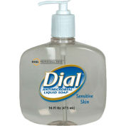 Dial Antimicrobial Soap For Sensitive Skin, 16 Oz. Pump 12/Case - DPR80784