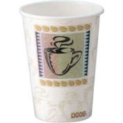 Perfectouch Hot Cups, 8 oz., Coffee Dreams Design, 1000 ct