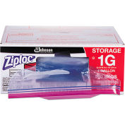 ZIPLOC® 1 Gallon Recloseable Bag with Write On Panel 175 Mil 250 Pack
