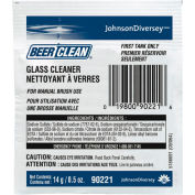 Beer Clean Low Suds Glass Cleaner Powder, .5 Oz. Packet 100/Case - DRA90224