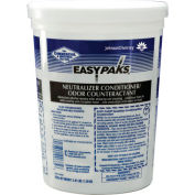 Easy Paks Neutralizer Conditioner/Odor Counteractant, 90 .50 Oz. Packets/Tub 2/Case - DRA90685