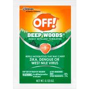 OFF® Deep Woods Insect Repellent Towels, 25% DEET, 12 Towels/Box, 12 Boxes - 611072