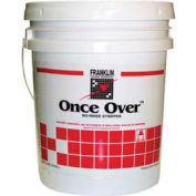 Once Over™ Floor Cleaner/Stripper Mint Scent, 5 Gallon Pail - FKLF200026