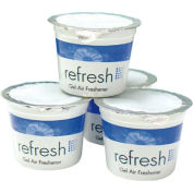 Eco Fresh Non-Para Emzymatic Block & Screen Green Apple, 1500 Flushes 12/Case - FPI12SANI