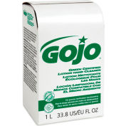Gojo NXT Green Certified Lotion Hand Cleaner Refill Unscented, 1000mL 8/Case - GOJ216508CT