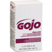 Gojo NXT Deluxe Lotion Soap W/ Moisturizers Refill Floral, 2000mL 4/Case - GOJ2217