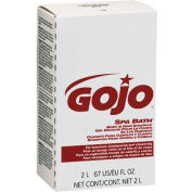 Gojo Spa Bath Body & Hair Shampoo Refill Herbal, 2000mL 4/Case - GOJ2252