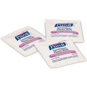 "Purell Premoistened Sanitizing Hand Wipes Individually Wrapped 5"" x 7"", 1000/Case - GOJ90211M"