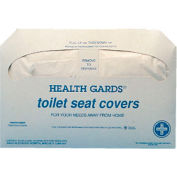 Health Gards Toilet Seat Covers, White 250 Covers/Pack 20/Case HOSHG5000CT