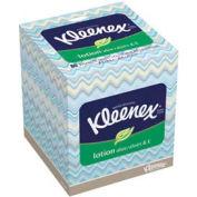 Kleenex 2-Ply Lotion Facial Tissue Pop-Up Box, 80 Sheets/Box, 27/Case - KIM25829