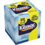 Kleenex Anti-Viral 3-Ply Facial Tissue Pop-Up Box, 68 Sheets/Box 27/Case - KIM25836CT