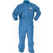 Kleenguard® A60 Bloodborne Pathogen & Chemical Splash Protection Coverall 45004, XL, 24/Case