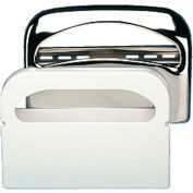 "Boardwalk Toilet Seat Cover Dispenser 16"" x 3"" x 11-1/2"", Chrome - BWKKD200"