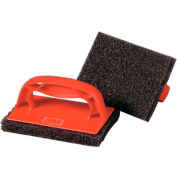 "Scotch-Brite Scotchbrick Griddle Scrubber 4"" x 6"" x 3"", 4 Scrubbers/Pack 3/Case - MMM59203"