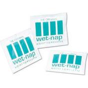 "Nice Pak® Wet-Nap Wet Towelettes 5"" x 7-3/4"", White 100/Pack 10/Case - NICD11055"
