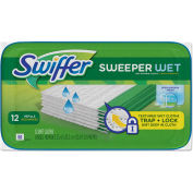 Swiffer Sweeper Wet Refill Cloths Open Window Fresh, 12 Wipes/Box 12 Boxes/Case - PGC95531CT
