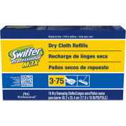 Swiffer Max Dry Refill Cloths For Swiffer Max Sweeper, 16 Wipes/Box 6 Boxes/Case - PAG37109