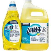 Dawn® Manual Pot & Pan Dish Detergent Lemon, 38 Oz. Bottle 8/Case - PAG45113