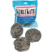 Kurly Kate Stainless Steel Medium Scrubber, 12/Pack - LRP300