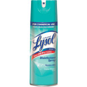 Professional LYSOL® Disinfectant, Crystal Waters, 12.5 oz. Aerosol Spray, 12 Cans/Case - 84044