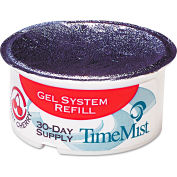 "Timemist Gel Cups Refill Very Cherry, 2-3/4"" Dia. 12/Case - WTB5717"