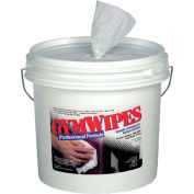 2XL Gymwipes Antibacterial Towelettes Unscented, 700 Wipes/Bucket 2/Case - TXLL37