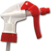 "Unisan General Purpose Trigger Sprayer, 7 1/2"", White/Red - Pkg Qty 24"