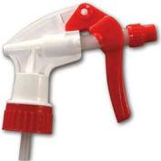 "Unisan General Purpose Trigger Sprayer, 7 1/2"", White/Red - Pkg Qty 24"