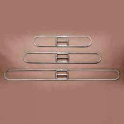 """18"""" x 3-1/4"""" Clip-On Dust Mop Frame - UNS1218"""