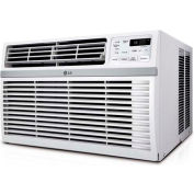LG LW6017R Window Air Conditioner with Remote, 6,000 BTU Cool Only, 115V