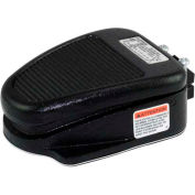 Linemaster 632-S Clipper Foot Switch, Momentary, Black, Cast Iron