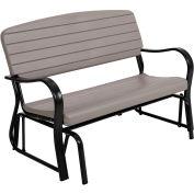 Lifetime® Glider Bench, Putty