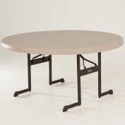 "Lifetime 60"" Round Professional Grade Folding Table"