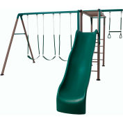 Lifetime® Monkey Bar Adventure Swing Set, Earthtone