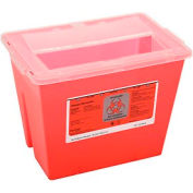 "2-Gallon Sharps Container, 8-1/2""W x 7-1/4""D x 10""H"
