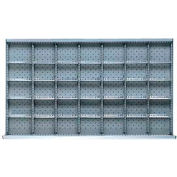 """MW Drawer Layout, 35 Compartments 5"""" H"""