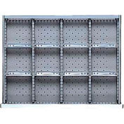 """ST Drawer Layout, 12 Compartments 2"""" H"""