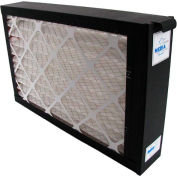 Whole System Media Air Purifier - 1400 CFM - MERV 7 Rated Filter - Black