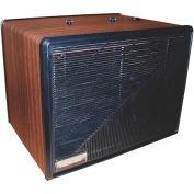 Portable Media Air Purifier - 275 CFM - 120V - Wood with Black Trim