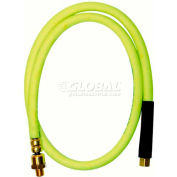 Legacy™ Flexzilla Zillawhip 3/8 X 4 Zillagreen Ball Swivel Whip Hose