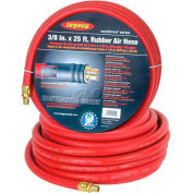 Legacy™ Workforce 3/8 X 25 Rubber Air Hose 1/4 Ends