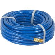 "Legacy™ Workforce® Blue PVC Air Hose, 3/8"" X 50', 1/4"" MNPT Ends"