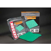 "Gerson® Ultra Prep Tack Cloth 18"" x 18"" Green, 10/Box - 020008G"