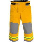 """Lakeland AT3302Y OSX Attack™ Fire Protective Turnout Gear Pants 44""""-30"""", Yellow"""