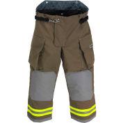 "Lakeland BA3307K OSX B1™ Battalion Fire Protective Turnout Gear Pants 44""-30"", Khaki"