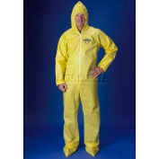 ChemMax1 Coverall, Attached Hood, Boots, Elastic Wrists, L, 25/Case, Lakeland, C55414L