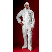 Lakeland C72150 ChemMax® 2 Protective Garment, 3XL, Hood, Elastic Face/Wrists/Boots, 6/Case