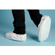 Lakeland CTL904 Micromax® NS Disposable Shoe Cover 2X, White, Vinyl Sole