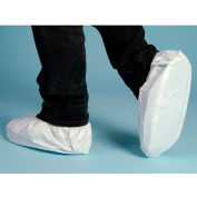 Lakeland CTL904 Micromax® NS Disposable Shoe Cover MD, White, Vinyl Sole