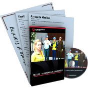 Convergence Training Sexual Harassment Awareness DVD, C-433B
